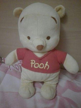 peluche Wini de Pooh sonajero