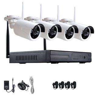 WIFI Kit 4 Camaras Sistema de Vigilancia