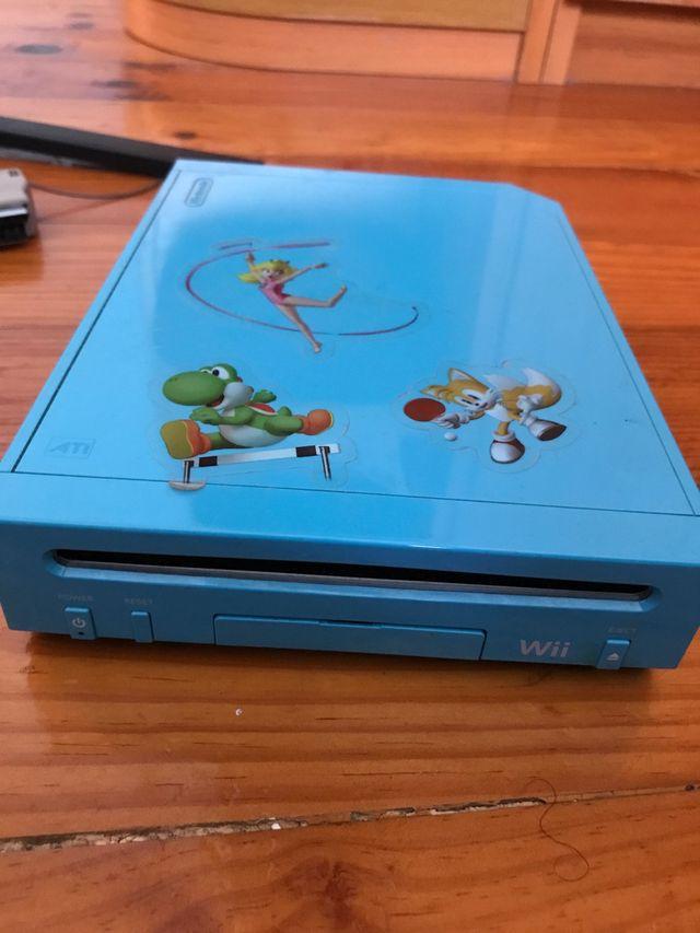 Nintendo Wii Edición Mario y Sonic +Juego Mario
