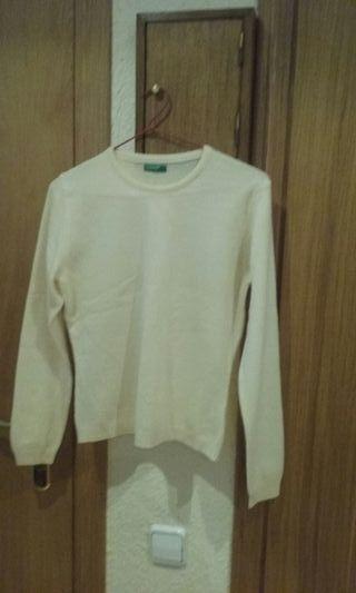 Sin estrenar.jersey lana color crudo.talla 38