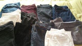 Lote pantalones mujer Talla grande