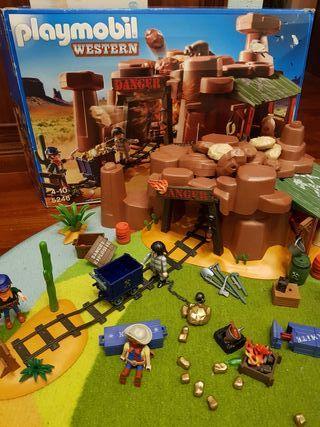Playmobil Mina del Oeste