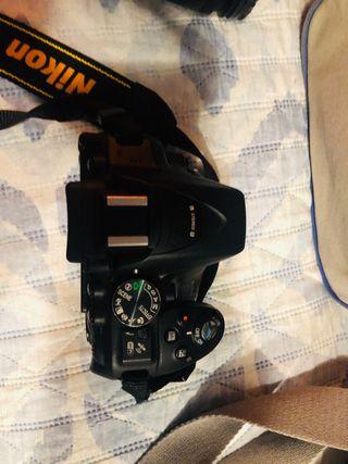 Nikon D5300 + objetivo