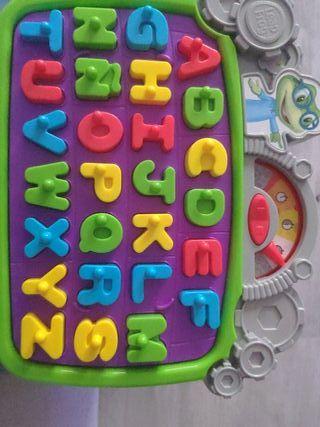 juego de letras con temporizador casi sin uso