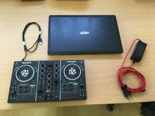 dj Numark y Pc portatil