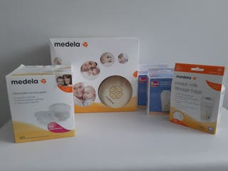 Pack sacaleches Medela