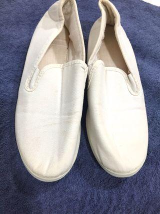Zapatillas Blancas. Talla 39