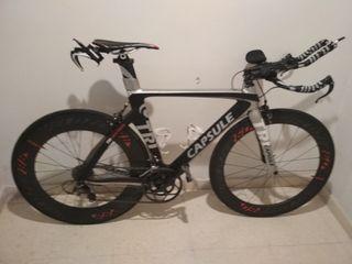 Bicicleta Capsule triatlón