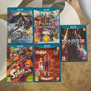 Videojuegos Wii U