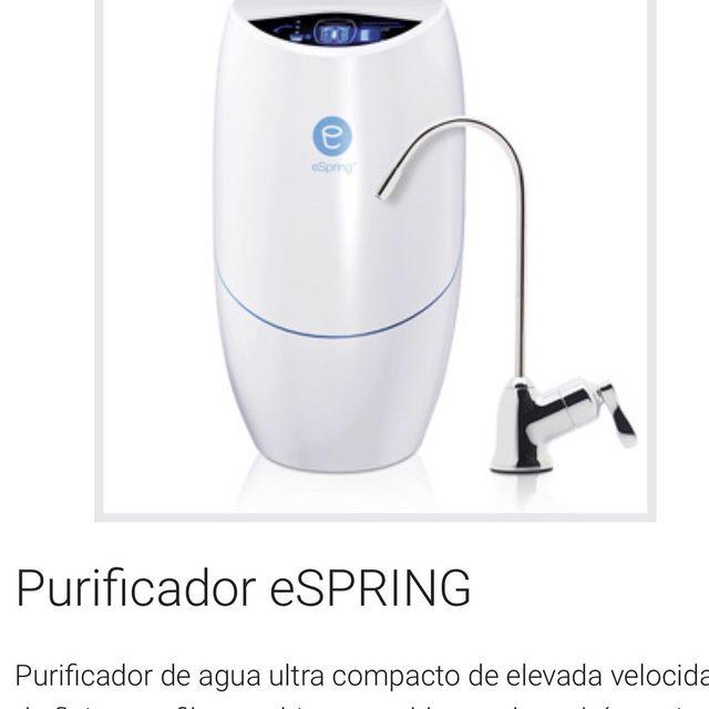 Purificador de agua. Nuevos
