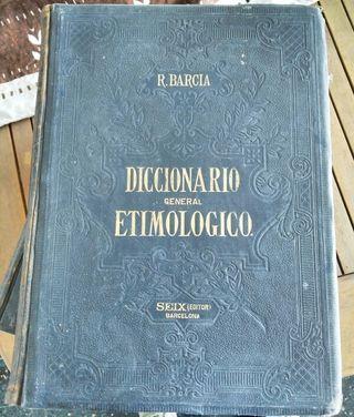 Diccionario etimológico de la Academia Española