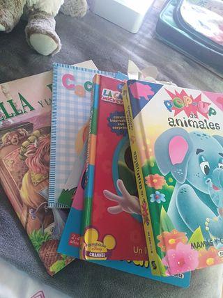 lote de cuentos infantiles, con animación.