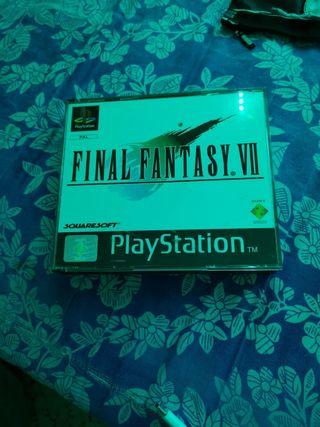 FINAL FANTASY VII PLAYSTATION SIN MANUAL