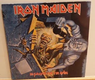 IRON MAIDEN disco vinilo