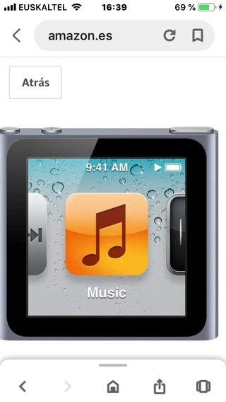iPod nano de sexta generación 8gn