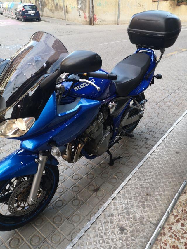 Suzuki bandit 600,año2005,
