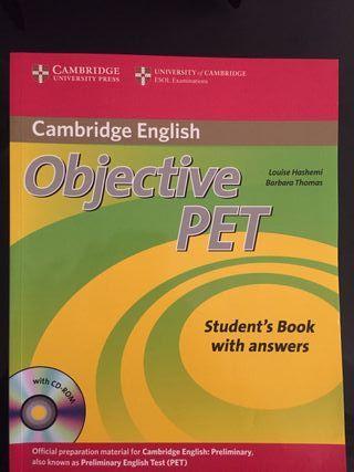 Libro inglés PET (B1)