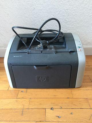 REGALO impresora laser HP blanco/negro