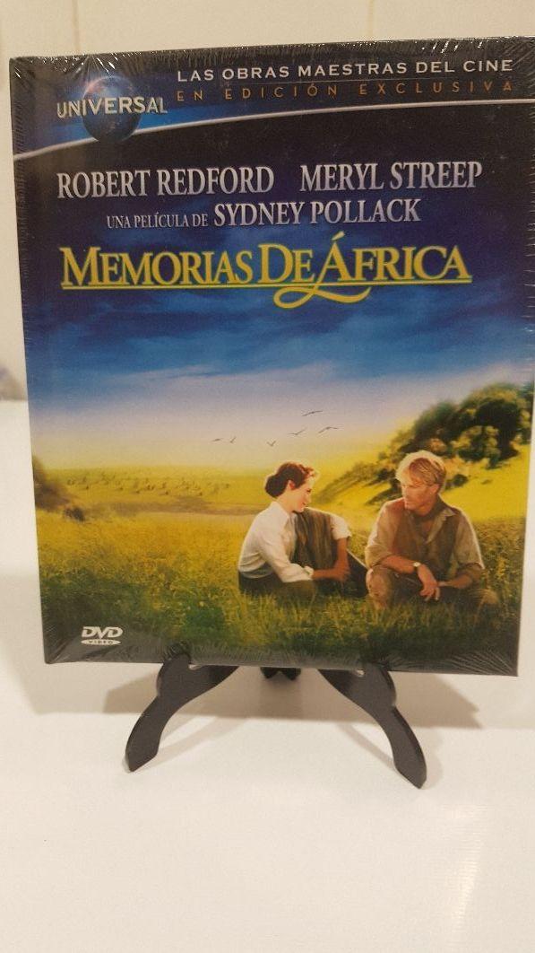 memorias de África nuevo formato dvd