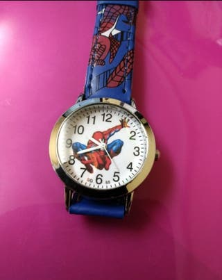 Reloj de niño de cuarzo Spiderman , a estrenar