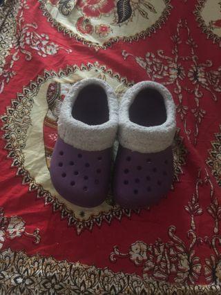 Zuecos crocs niñ@ talla 6/7