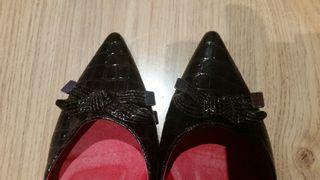 Zapatos marrones talla 40