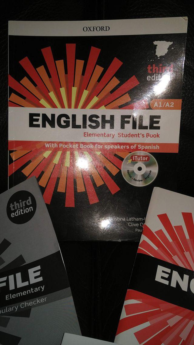 Curso/Libro/Material de inglés - A1/A2 - OXFORD