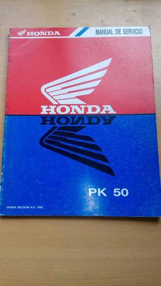 manuales originales de taller motos Honda