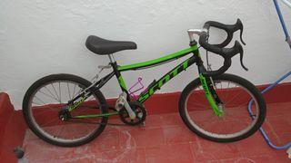bicicleta carretera escuela