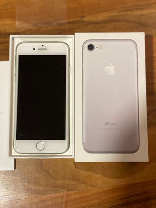 IPhone 7 128gb color plata