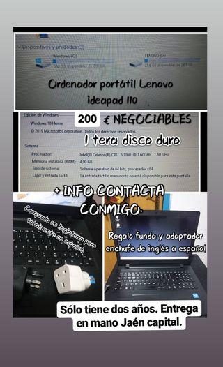 Pc portátil BAJADO DE PRECIO