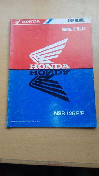 manuales de taller motos Honda