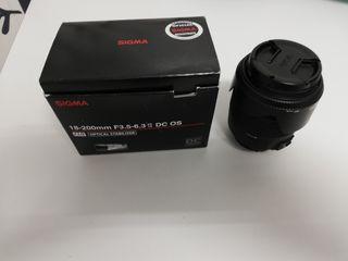 Sigma 18-200 para Nikon