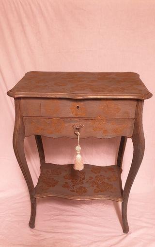 Mueble Francés Antiguo Costurero