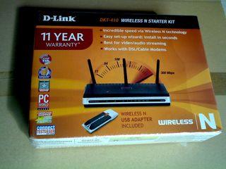DLINK DKT-410 ROUTER WIFI y USB WIFI N 300