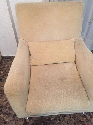 Conjunto sofás de diseño marca Joquer