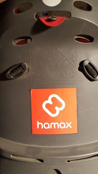 Silla de bebé Hamax para bicicleta