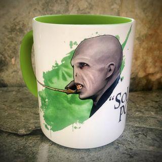 Taza desayuno Voldemort Harry Potter