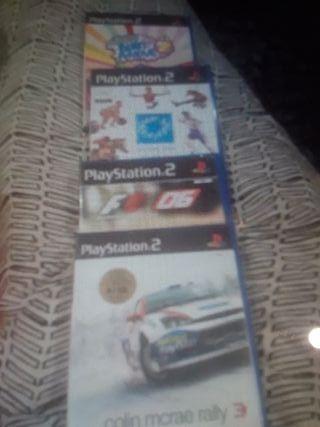 Juegos PLAY STATION2