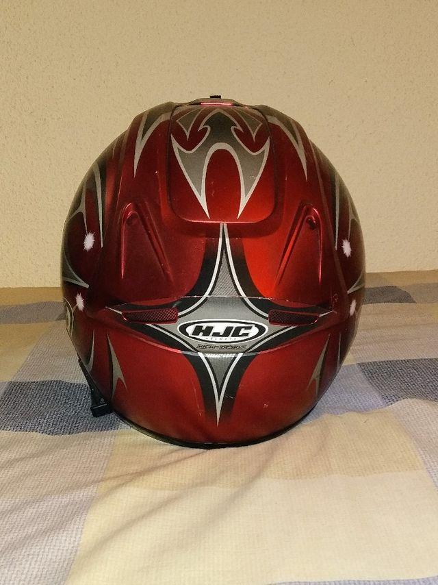 Casco de moto de fibra de vidrio T-S