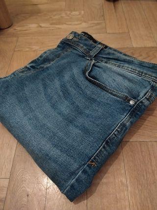 Pantalón vaquero azul hombre super skinny