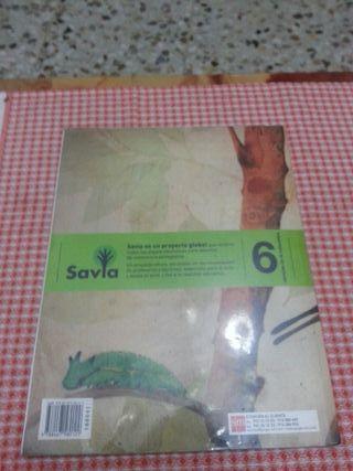Libro de la naturaleza 6 de primaria