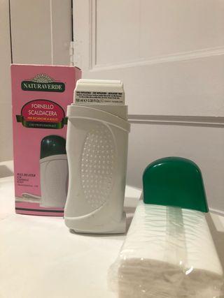 Calentador profesional cera + kit