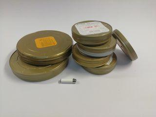 latas de película 35 mm