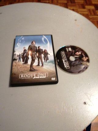 vendo rogue one película en dvd