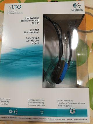 Auriculares Logitech para ordenador