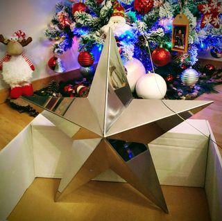 Estrella XXL Decoración Navidad