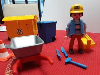 Muñeco de Playmobil con acceso