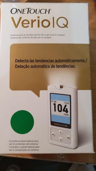 medidor glucosa OneTouch Verio IQ
