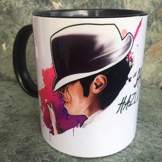 Taza desayuno Michael Jackson